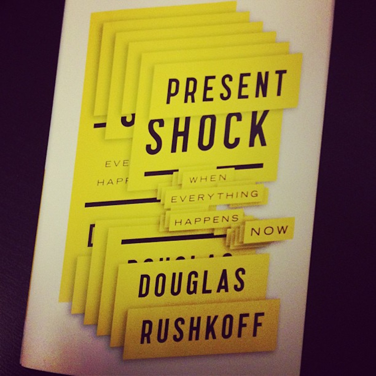 Present Shock Book Cover
