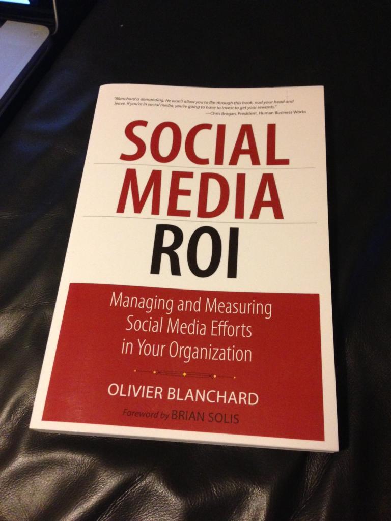Social Media ROI Book Cover