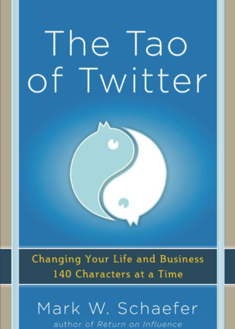 The Tao of Twitter Book Cover